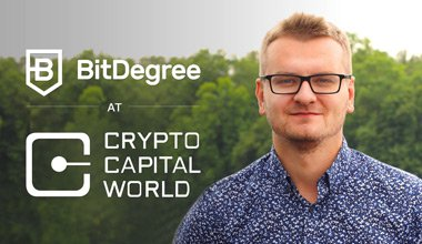 BitDegree Attends The Crypto Capital World Conference
