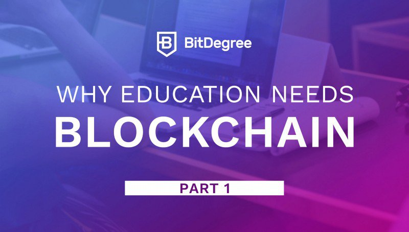 Blockchain in Education P1: Eliminating FUD