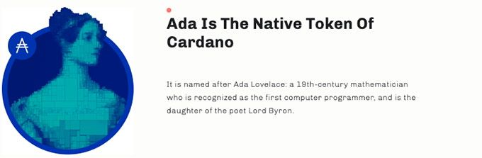 ADA token: native token.
