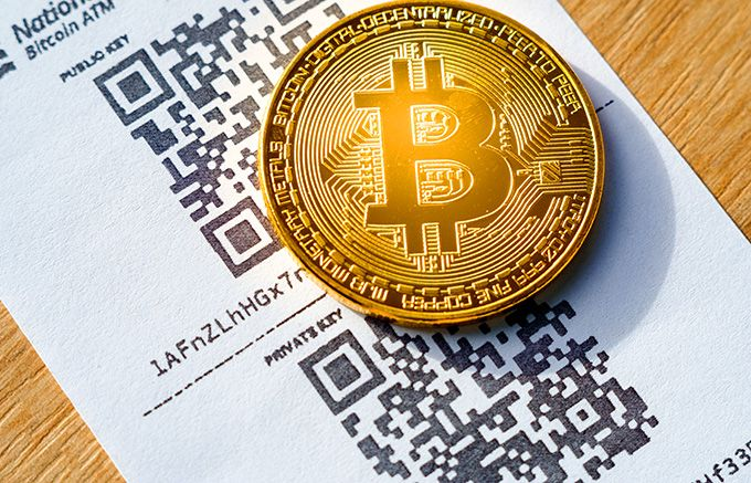 Best cryptocurrency wallet: Bitcoin paper wallet.
