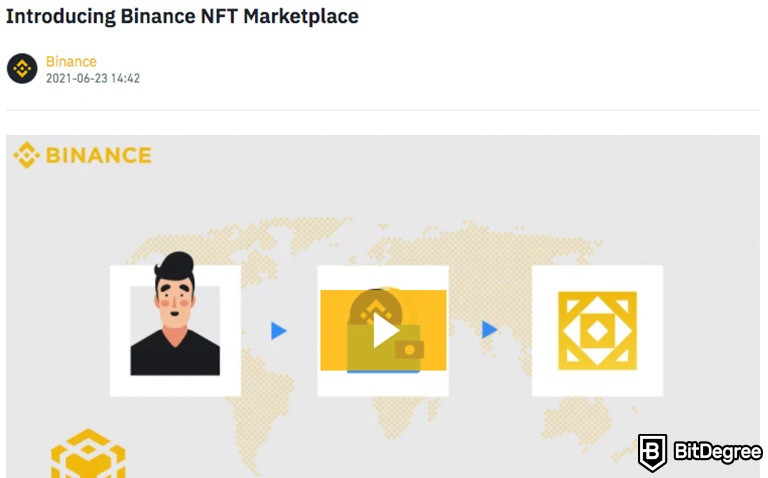 Binance NFT Marketplace Guide: How to Collect, Buy, and Sell NFTs