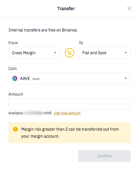 Binance wallet review: transfer assets with Binance.
