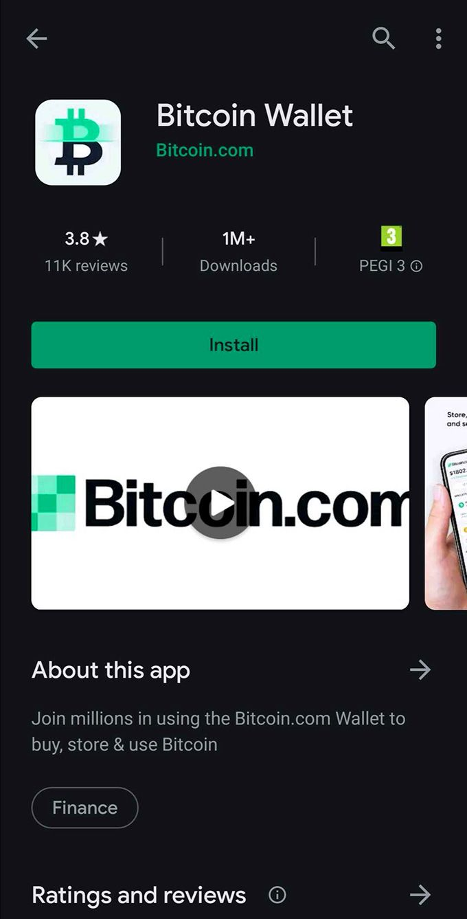 Bitcoin.com review: Bitcoin.com on the Play Store.