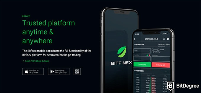 Bitfinex review: trusted platform anytime & anywhere.