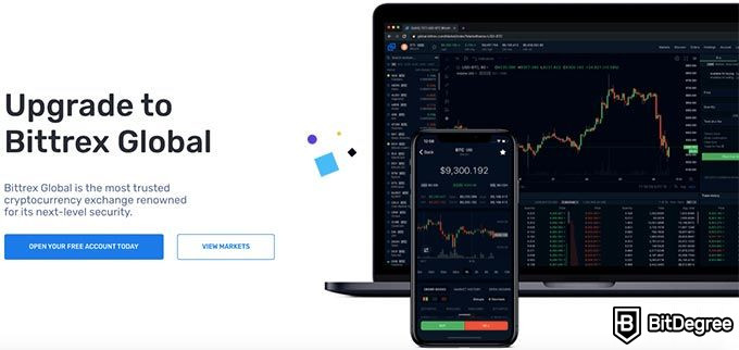 Bittrex review: Bittrex Global.
