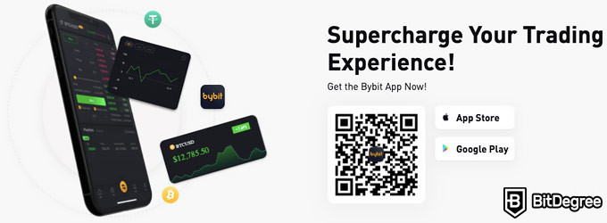 Bybit review: mobile app.
