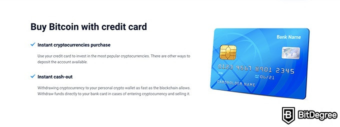 Just2Trade review: buy Bitcoin with a credit card.