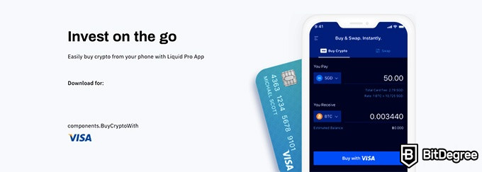 Liquid review: invest on the go.