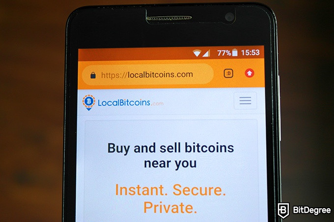 LocalBitcoins review: Instant. Private. Secure.