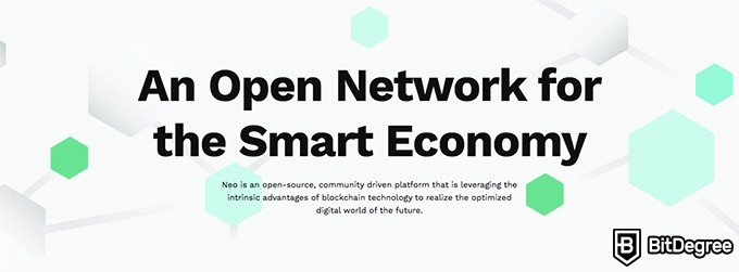 NEO coin: an open network for the smart economy.
