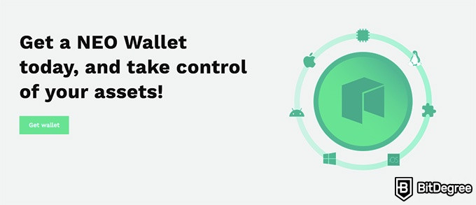 NEO coin: the NEO wallet.