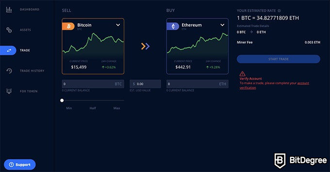 ShapeShift exchange review: trade cryptocurrencies.