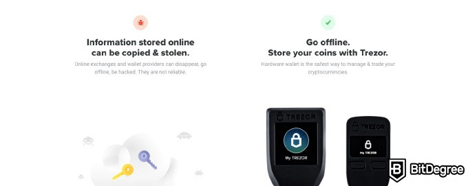 Trezor Model T review: information about Trezor.