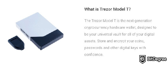 Trezor Model T review: what is the Trezor Model T?