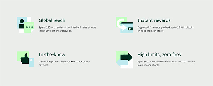 Wirex review: global reach of Wirex.