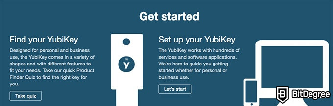 YubiKey review: get started with YubiKey.