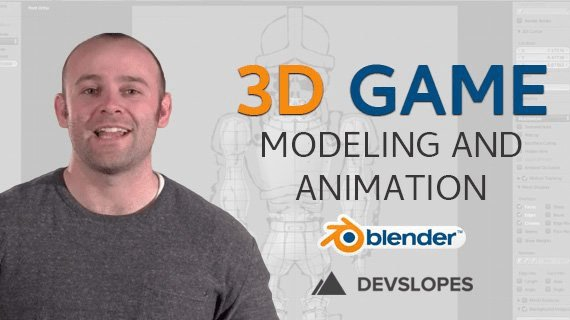 Complete Blender Tutorial: Master Blender Animation & 3D Game Modeling