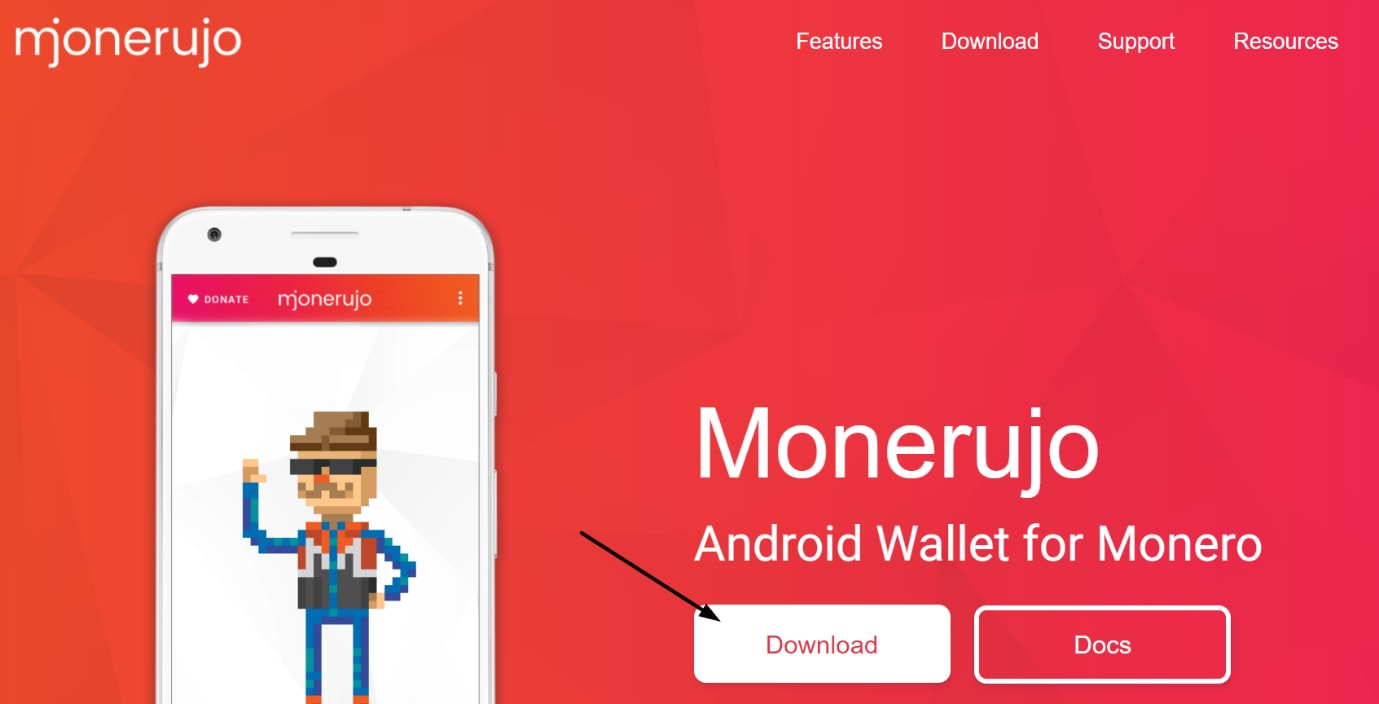 Mjonerujo android wallet for Monero