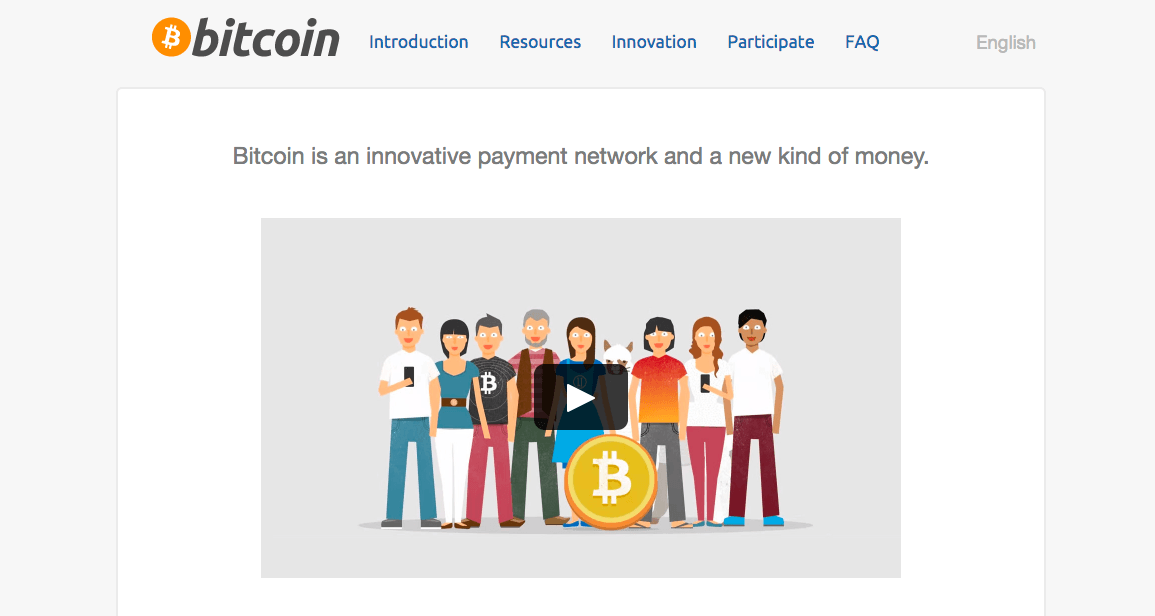 Bitcoin websites front-page