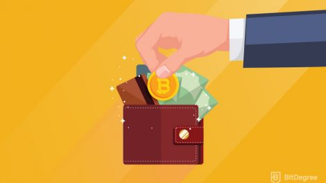 Putting bitcoin coin in to wallet