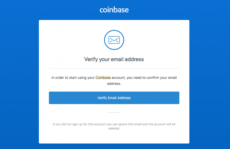 how to buy ethereum with credit card - Coinbase email verification