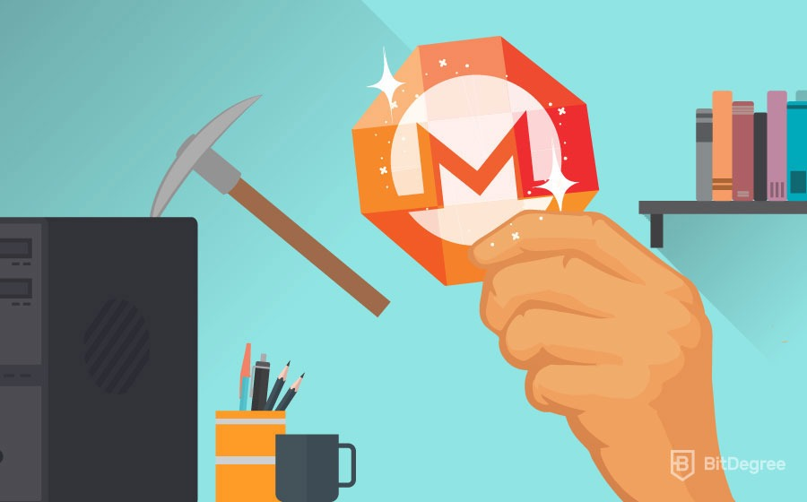 Monero mining with a computer
