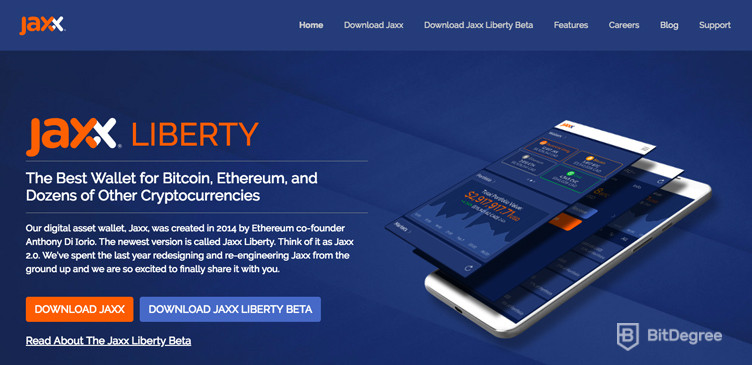 What is Ethereum Jaxx Wallet