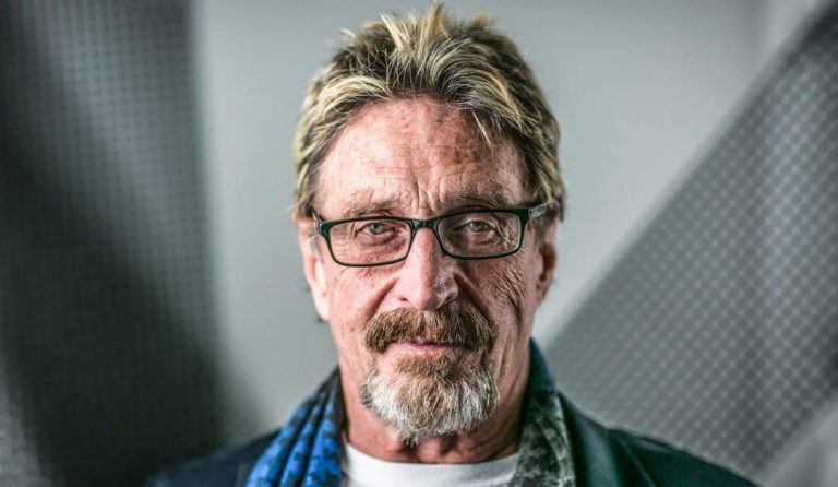 Portrait of John McAfee