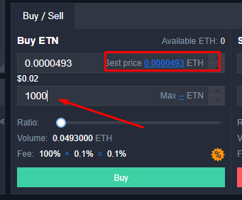 How to buy electroneum on kucoin