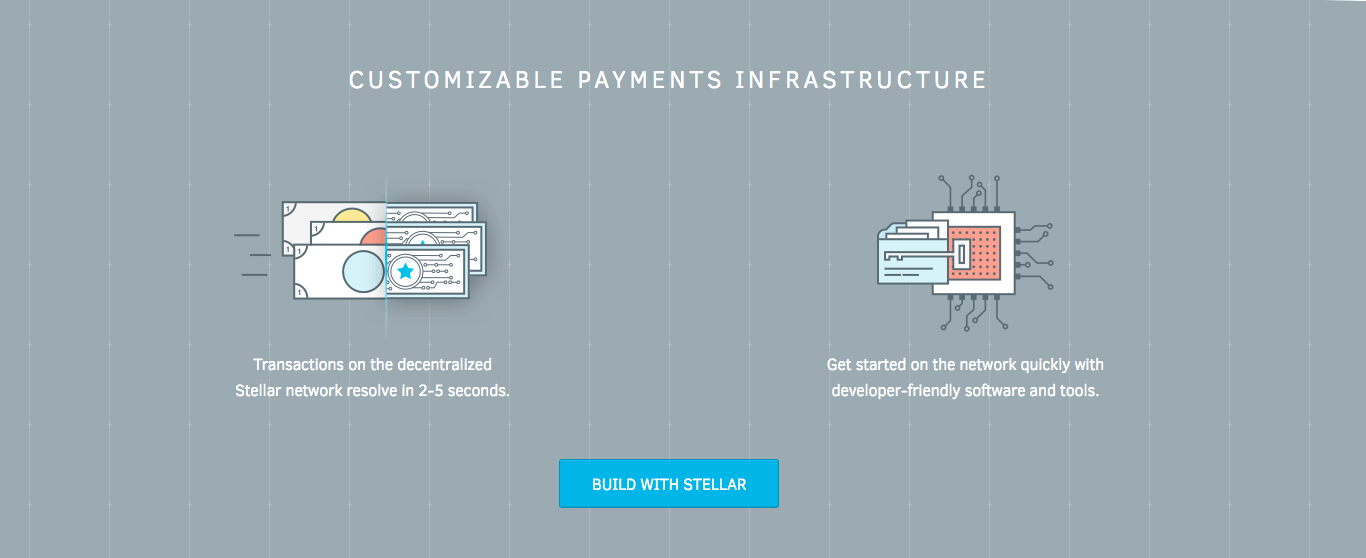 Stellar Lumens customizable payments infrastructure