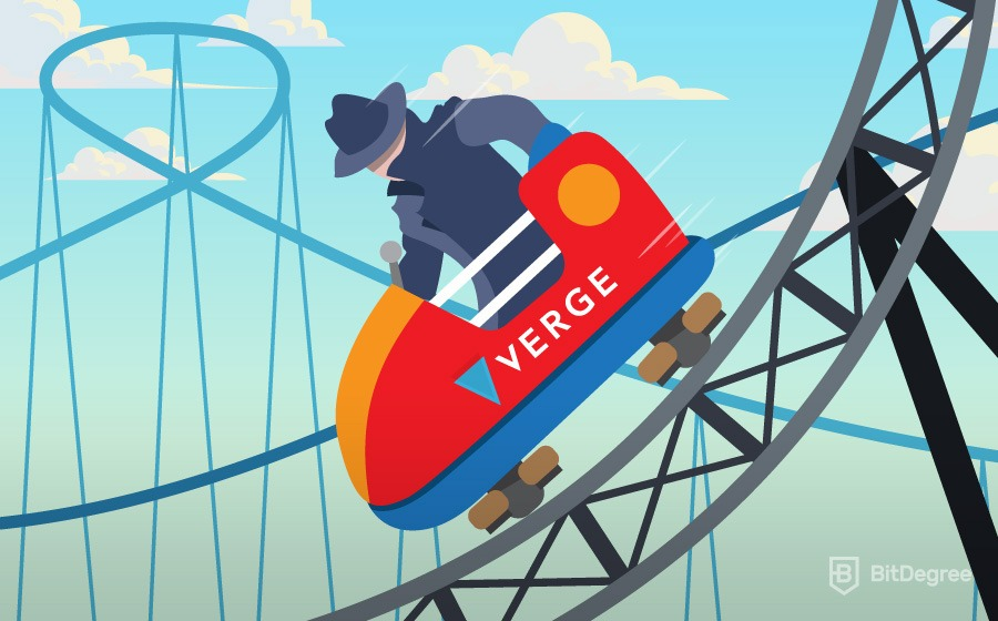 Rollercoaster of Verge price prediction