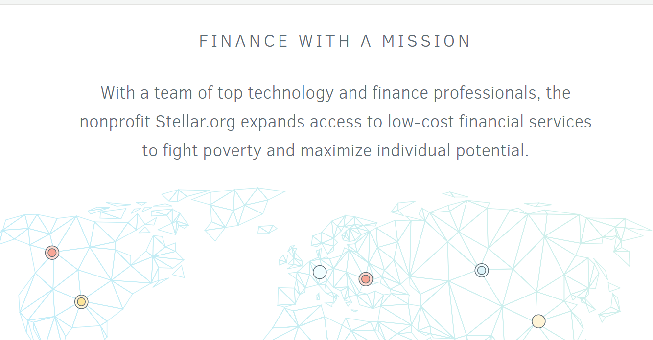 Finance with a mission
