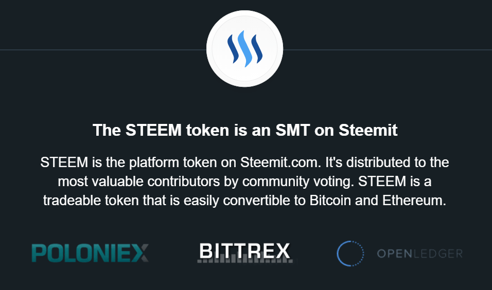 What is Steem token