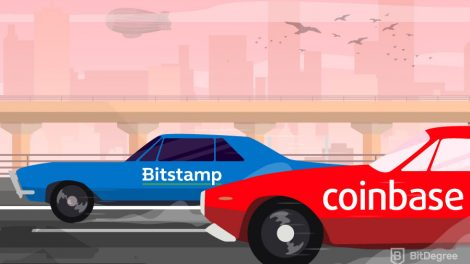 Race between bitstamp vs coinbase