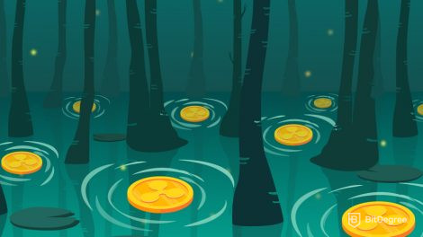 Floating ripple coin