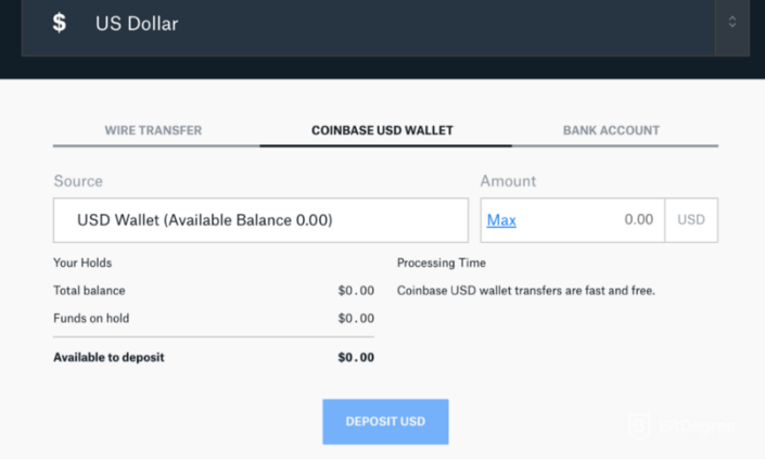 how to transfer bitcoin to usd coinbase