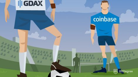 Football match - GDAX vs Coinbase
