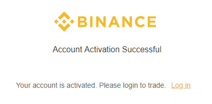 How to Use Binance Account Activation Successful