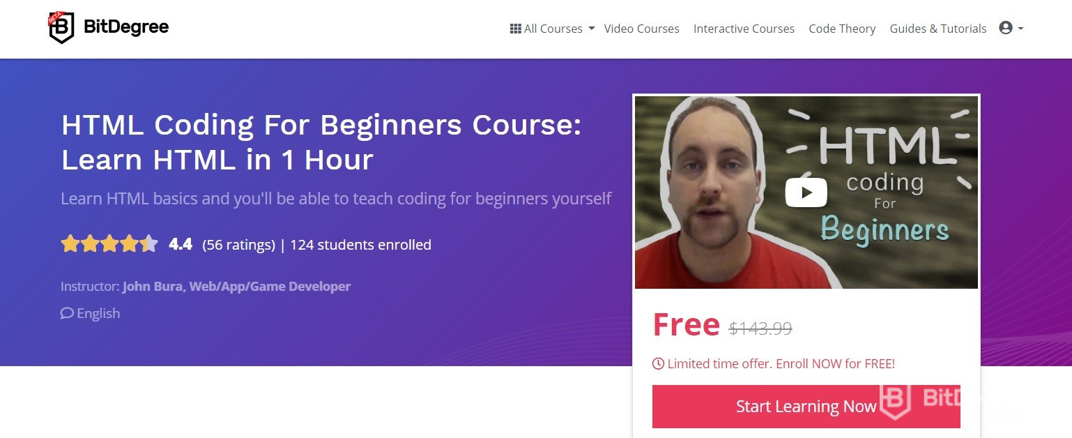 Learn PHP - HTML coding for beginners course