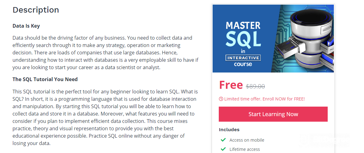 SQL Practice Online: Explore Top 10 Resources to Learn SQL Online