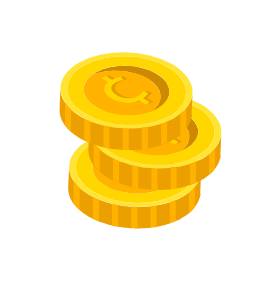 Stack of penny cryptocurrencies