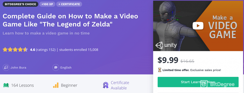 How to make a video game like Zelda course