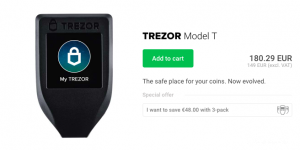 coolwallet s vs ledger nano s - Trezor Model T gadget