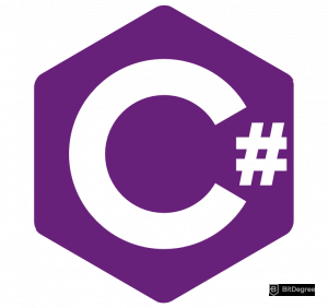 C# vs Java - C# logo
