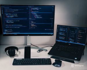 Best Place to Learn Python - Programming in two screens