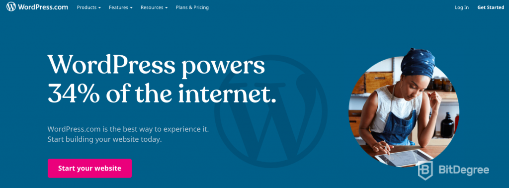 Best CMS: WordPress.com