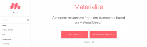 Bootstrap Alternatives: Materialize