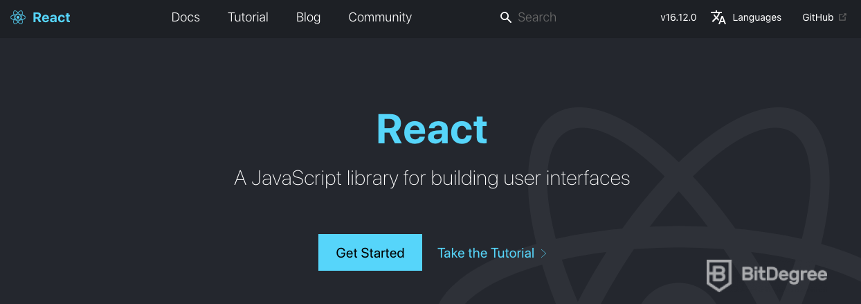 JavaScript libraries: React.js